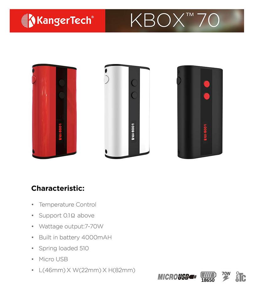 Kanger KBOX 70