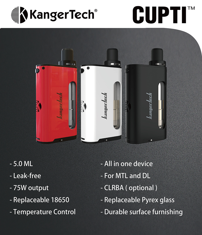 Kanger Cupti Features