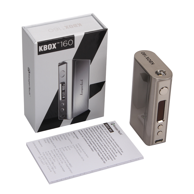 Kanger Kbox 160W Package