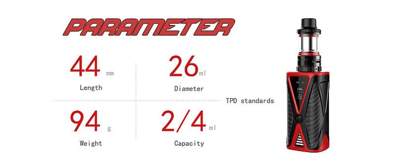 Spider Kit Parameter