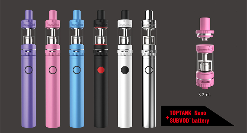 Kanger SUBVOD Starter Kit Parameter
