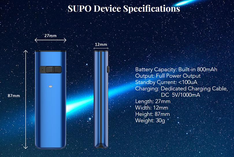Kanger SUPO Device Parameters