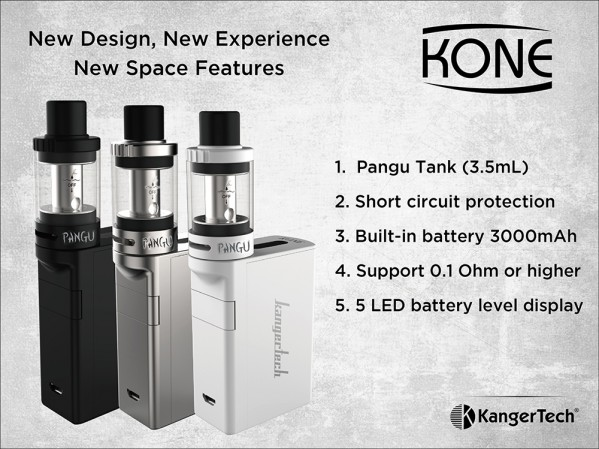 Kanger KONE Starter Kit