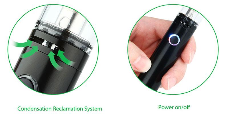 Kanger Pangu Starter Kit Black features