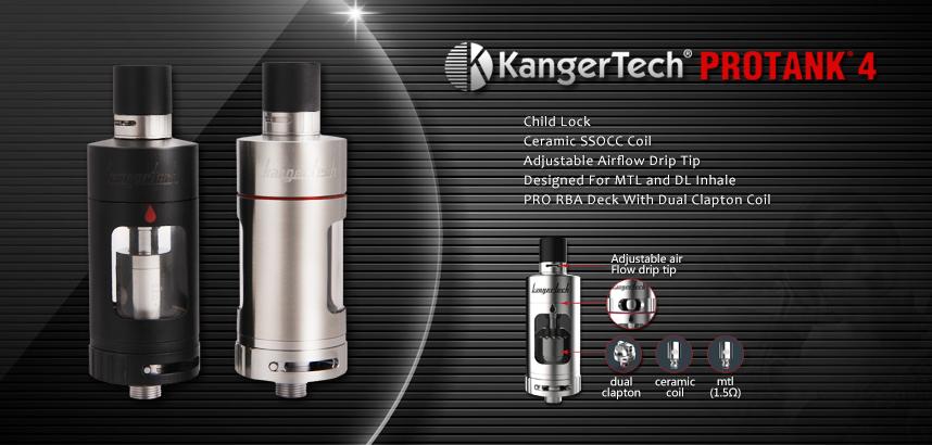 Kanger Protank 4 clearomizer