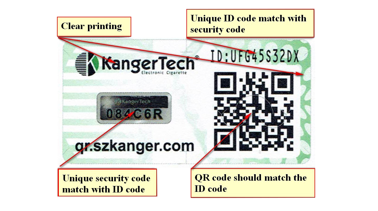 kanger Official Authenticity Query